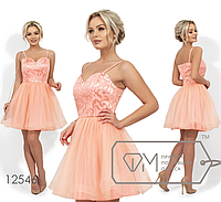Нарядное платье мини размеры 42,44,46