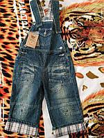 Комбинезон для мальчика джинсовый