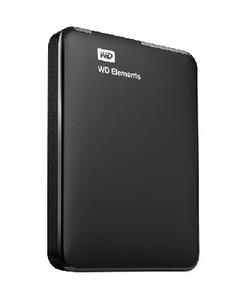 Western Digital Elements 1TB 2.5 USB 3.0 Black (WDBUZG0010BBK-WESN)