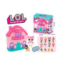 Кукольный домик ЛОЛ с куколкой