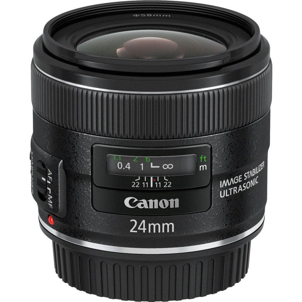 Широкоугольный объектив Canon EF 24mm f/2.8 IS USM