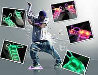 🔝 Cветящиеся шнурки, Led шнурки. Аналог светящихся кроссовок,для подростков LED Platube | 🎁%🚚, фото 1