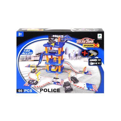 """Паркинг """"six-six-Zero: Полиция"""", 66 элементов 660-A35"""