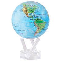 """Глобус самовращающийся Solar Globe MOVA  11,4 см """"Физическая карта мира"""""""