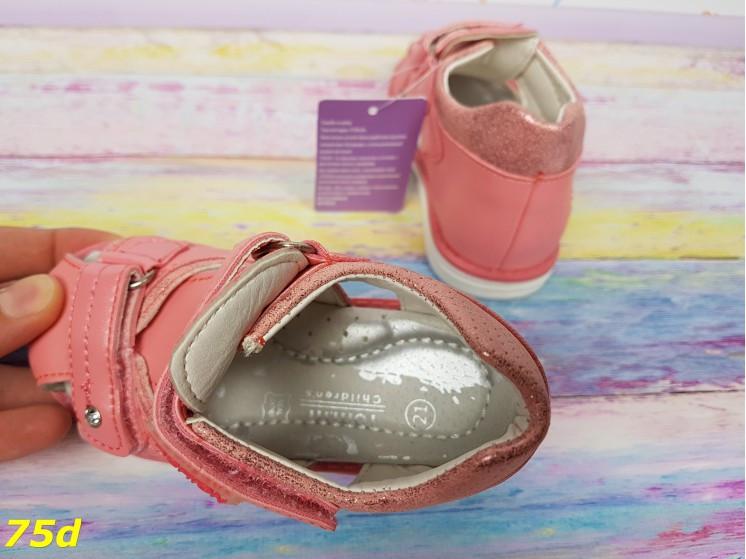 Босоножки закрытые для девочки розовые фирма Tom.m 20-25р, фото 1