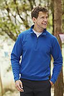 Классический мужскай свитер на молнии до груди 62-114-0