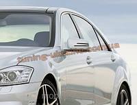 Боковые зеркала AMG на Mercedes S-klass W221 2005-2013