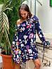 Стильное платье с воланами «Жаннет» ткань: супер Soft.  Размер: 42-46. Разные цвета (6322), фото 4