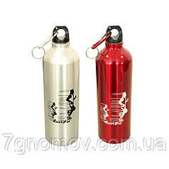 Пляшка, фляга для води металева Марафон 750 мл