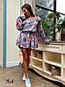 Стильное платье с воланами «Жаннет» ткань: супер Soft.  Размер: 42-46. Разные цвета (6322), фото 6