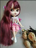 Шарнирная кукла Айси Блайз + костюм и кроссовки