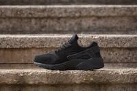 Кроссовки черные Nike Air Huarache Ultra Black Найк Аир Хуарачи Ультра