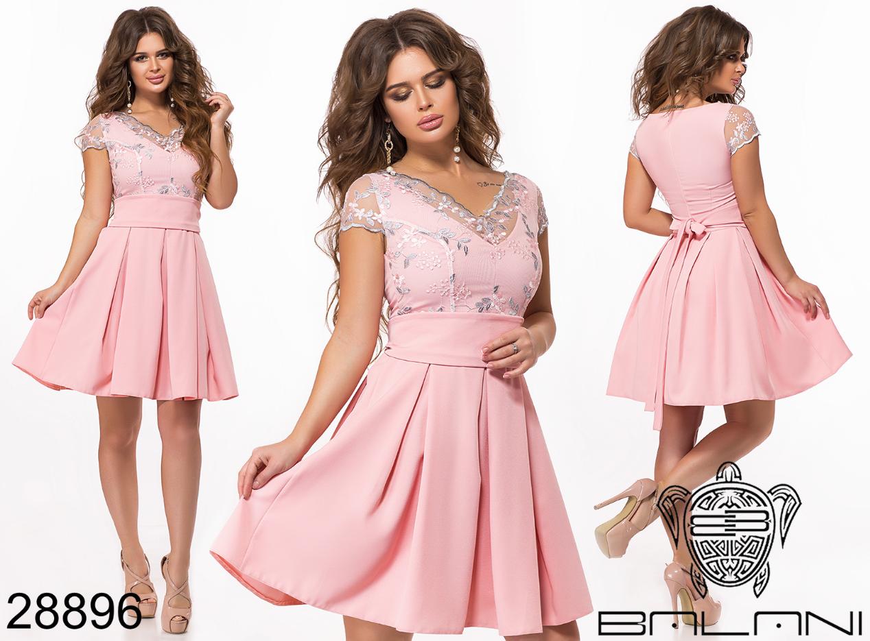 Вечернее платье мини размеры 42,44,46,48