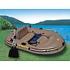 Надувная Лодка Intex 68318 длина 241х145x42см EXCURSION двух местная сет/set, фото 2