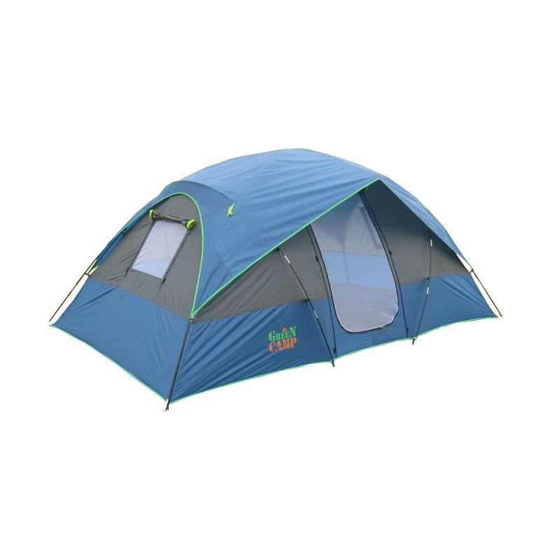 Палатка 4-х местная GreenCamp 1100