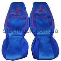 Чехол на сиденья RENAULT Premium (пилот), синий