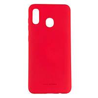 Оригинальный силиконовый чехол Molan Cano Jelly Case для Samsung Galaxy A30 (SM-A305) (красный), фото 1