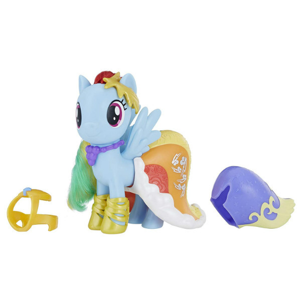 My Little Pony Пони-модница Рейнбоу Деш Радуга Snap-On Fashion Rainbow Dash