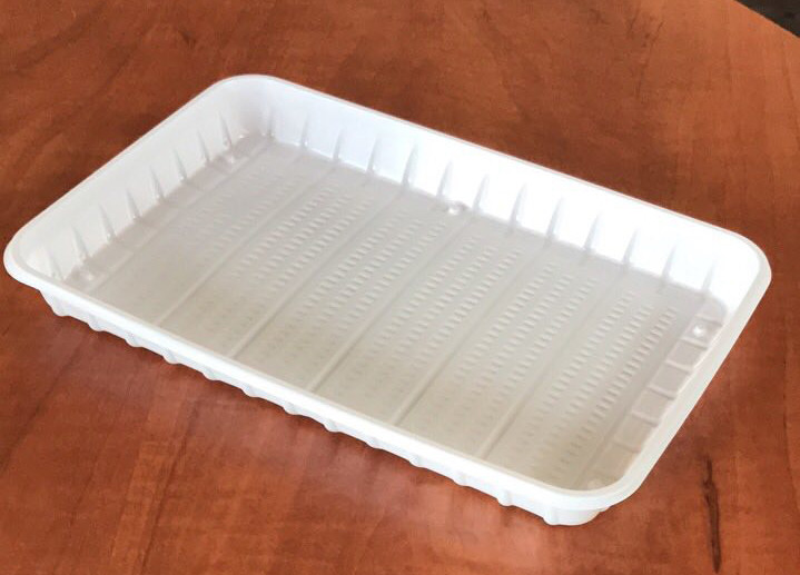 Тарелка одноразовая прямоугольная 130*150