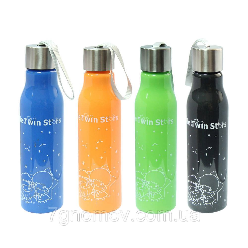 Бутылка для воды на подарок Милашки 600 мл
