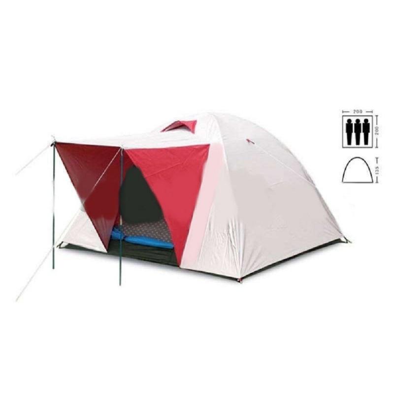 Палатка туристическая трехместная SY-014 с тамбуром