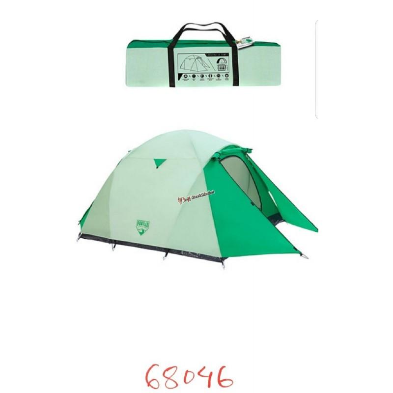 Палатка туристическая Pavillo 3-х местная Bestway 68046 (200+140)х180х125 см