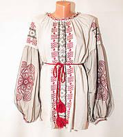 """Вышиванка женская льняная, стиль Бохо, размеры 42-56 """"ETNO MODA"""" недорого от прямого поставщика"""