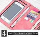 Женский кошелек, портмоне Baellerry розовый, фото 4