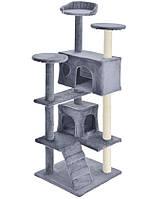 Когтеточка домик дряпка для кошек 130 см