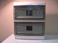 Щиток (шкаф, ящик) пластиковый распредилительный навесной  на 26 модульных автоматов