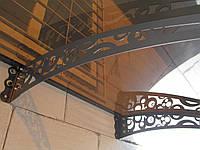 Навіс/накриття/дашок над входом-поликарбонат 3мм,4мм