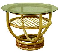 """Столик журнальный """"Марс"""". Плетеная мебель из ротанга."""