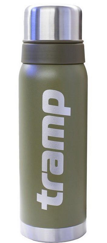 Термос металлический Tramp TRC-031 (0,75л), оливковый, для чая, кофе и воды