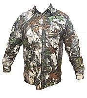 Рубашка мужская для охоты и рыбалки хлопок