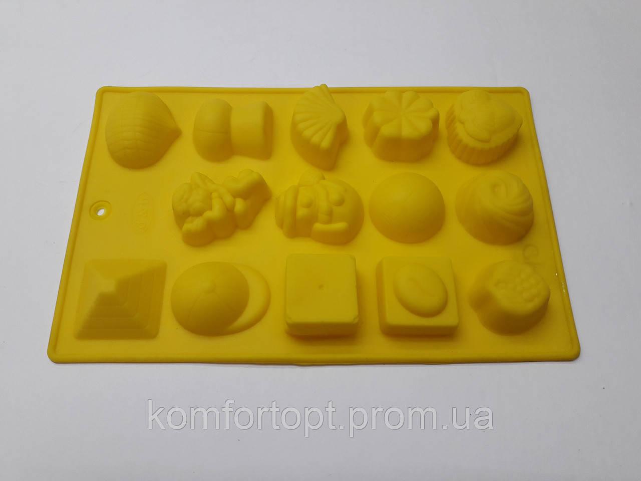 Форма силиконовая для конфет 20см х 11см