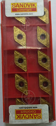 DNMG110408 (M) Твердосплавная пластина для токарного резца Sandvik, фото 2
