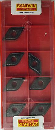 DNMG150608 (P,K) Твердосплавная пластина для токарного резца Sandvik, фото 2