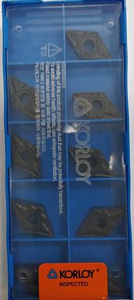 DNMG150608 (P) Твердосплавная пластина для токарного резца Korloy, фото 2