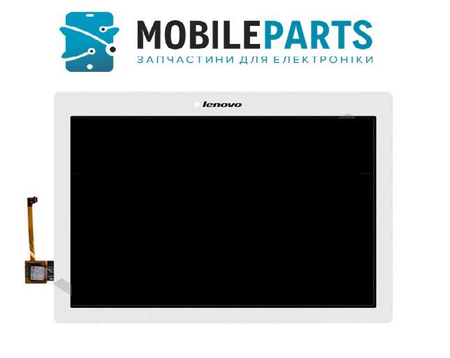 Дисплей для планшета Lenovo A10-70F | A10-70L Tab 2 с сенсорным стеклом (Белый) Оригинал Китай