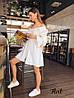 Платье-рубашка «Арго»,ткань: летняя костюмка Лиза. Размер:42-44. Разные цвета (6326), фото 6