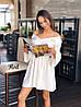 Платье-рубашка «Арго»,ткань: летняя костюмка Лиза. Размер:42-44. Разные цвета (6326), фото 7