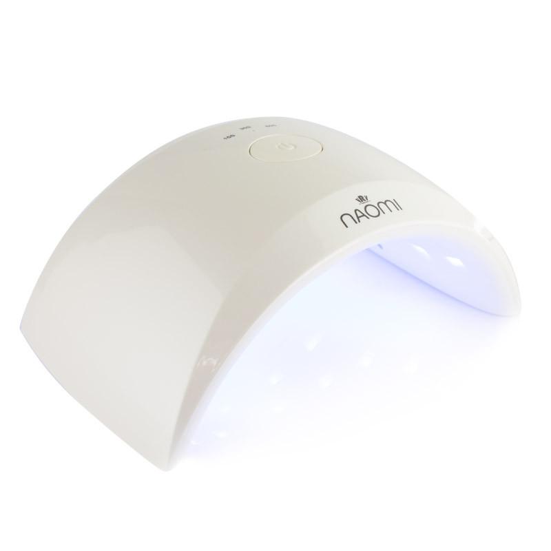 УФ LED ЛАМПА NAOMI HL-108 24W (белая)