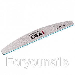 Пилка - Баф для ногтей Gga Professional 100/100 Gga полумесяц