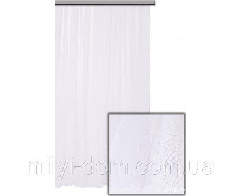 Комплект готового натурального Тюля Nirvana Белый, арт. MG-4082