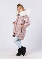 Детское зимнее Пальто 8261 на девочку ТМ X-Woyz Размеры 32- 42 Новинка!