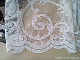 Комплект готового Тюля Fransua Белый, арт. MG-4059, фото 2