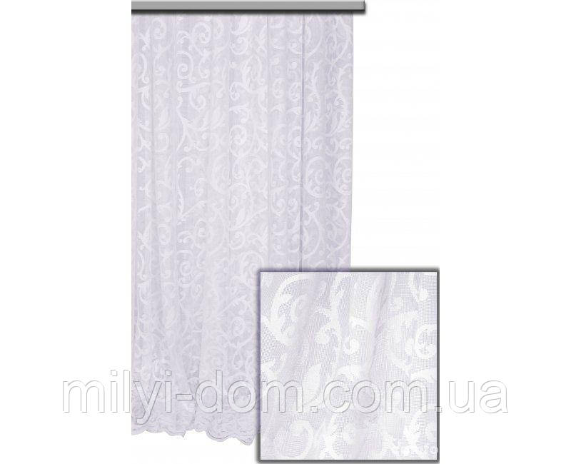 Комплект готового Тюля Fransua Белый, арт. MG-4059