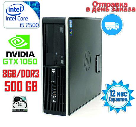 Компактный игровой компьютер Intel Core i5 4-ядра 3.3GHz/DDR3-8Gb/HDD-500gb/Nvidia GTX1050, фото 2