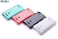 Чехол для Sony Xperia U ST25i - ROCK Colorful back cover