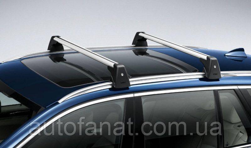 Оригинальные багажные дуги для автомобилей без рейлингов крыши BMW X1 (E84) (82712338617)